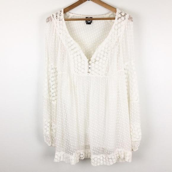 faee0a0f483ba9 ... RAINN | silk peasant blouse boho. M_5bfc6412819e90acf221beb3